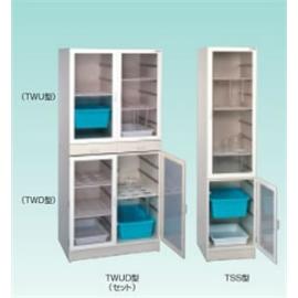 テラオカ ガラス器具保管庫一体型 TSS型 :10-1342-48 ※送料別途お見積り