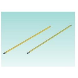 テラオカ 黄管精密棒状水銀温度 -20-50℃(メモリ1/10) :14-3404-06