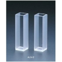 テラオカ 分光光度計用石英セル AUV2-10-2 2面透明 :16-0901-31 ※返品不可