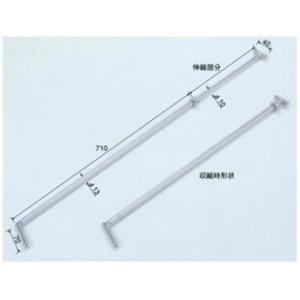 テラオカ スライド式斜補強棒 SRN750 :22-0152-10