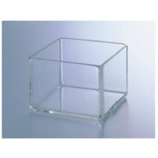 テラオカ ガラス製角型容器 水槽 W300×D300×H300mm :24-1590-12