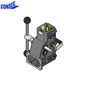 コンセック 口59 クランプ組 CL-592C コアドリル(ギヤドモータ)用 スライドプレート式