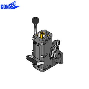 コンセック 口59 クランプ組 CL-592EC コアドリル(ギヤドモータ)用 スライドプレート式 EHAC仕様(自動送り装置対応)