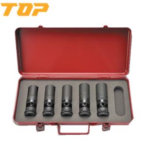 トップ工業 インパクトレンチ用ユニバーサルソケットセット差込角12.7mm PUS-1724S