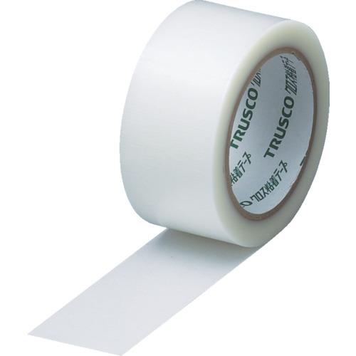 ■TRUSCO クロス粘着テープ 幅50mmX長さ25m クリア 透明(30巻) GCT-50 トラスコ中山(株)[TR-0015342×30]