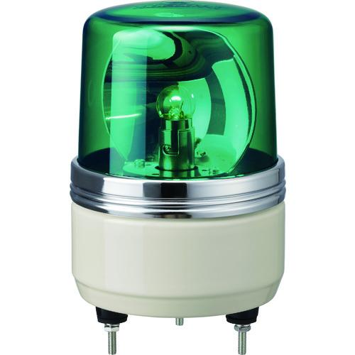 ■パトライト SKH-EA型 小型回転灯 Φ100 色:緑  〔品番:SKH-100EA-G〕[TR-1004671]