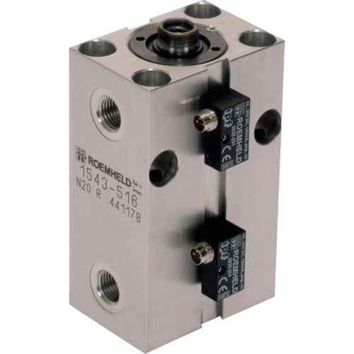 ■ROEMHELD ブロック・シリンダー ストローク 25mm ピストン径32  〔品番:1544513〕[TR-1034975]