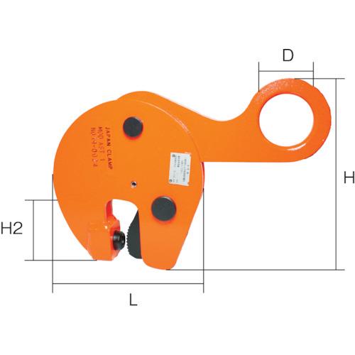 ■日本クランプ 形鋼つり専用クランプ 1.0t AST-1 日本クランプ[TR-1066226]