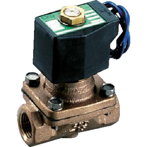 ■CKD パイロット式2ポート電磁弁(マルチレックスバルブ)105[[MM2]]/有効断面積 AP11-15A-03A-AC100V CKD(株)[TR-1103016]