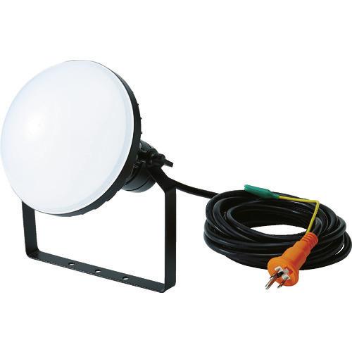 ■TRUSCO LED投光器 DELKURO 50W 5m アース付 2芯3芯両用タイプ RTLE-505EP トラスコ中山(株)[TR-1141052]