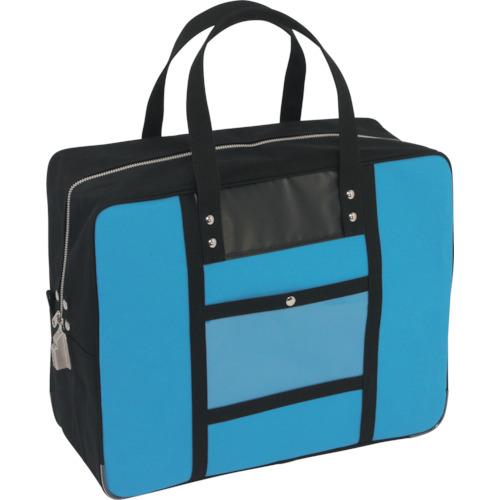 三栄産業 ツールバッグ ■SANEI 帆布メール用ボストン LL TR-1141867 ブランド品 爆買い新作 品番:BTLL-SED-09 SED-1錠付 ブルー