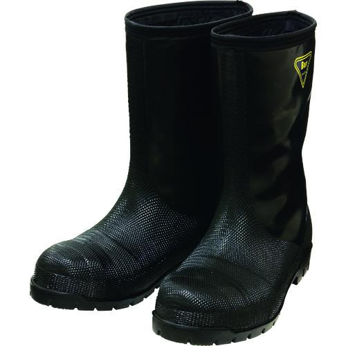 ■SHIBATA 冷蔵庫用長靴-40℃ NR041 23.0 ブラック NR041-23.0 シバタ工業(株)[TR-1142714]