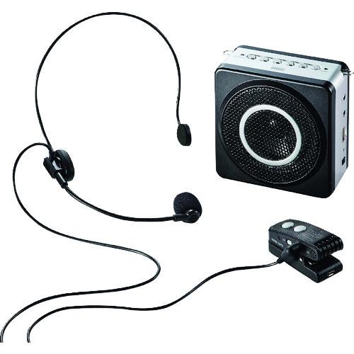 ■SANWA ワイヤレスポータブル拡声器 MM-SPAMP5 [TR-1142816]