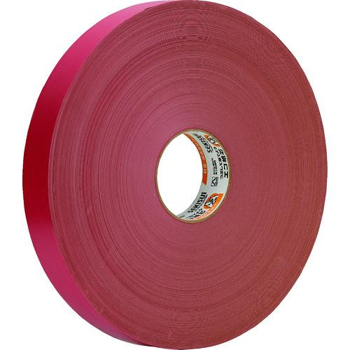 ■積水 クラフトテープ#500 38×500M 赤色《6巻入》〔品番:K50LRX2〕[TR-1144220×6]