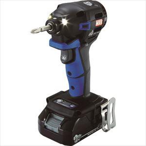 ■MAX 18V充電インパクトドライバセット(アオ)2.5Ah PJ-ID152B-B2C/1825A マックス(株)[TR-1145077]