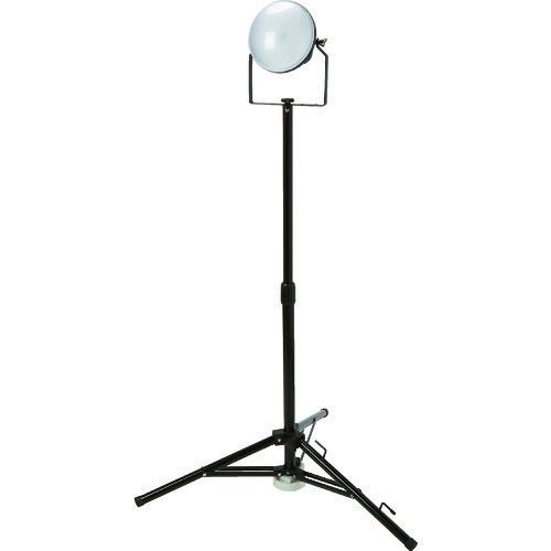 ■TRUSCO LED投光器 DELKURO 三脚タイプ 1灯 50W 10m アース付 2芯3芯両用タイプ RTLE-510EP-SK トラスコ中山(株)[TR-1145841]