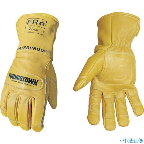 ■YOUNGST 革手袋 FRウォータープルーフレザー ケブラー(R) M〔品番:11-3285-60-M〕[TR-1146945]