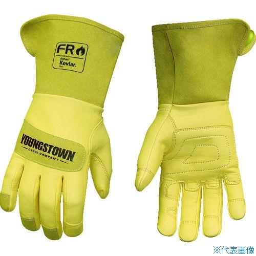 ■YOUNGST 革手袋 FRレザー ケブラー(R) ワイドカフ S〔品番:12-3275-60-S〕[TR-1146956]