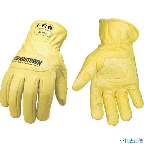 ■YOUNGST 革手袋 FRグラウンドグローブ ケブラー(R) M〔品番:12-3365-60-M〕[TR-1146961]