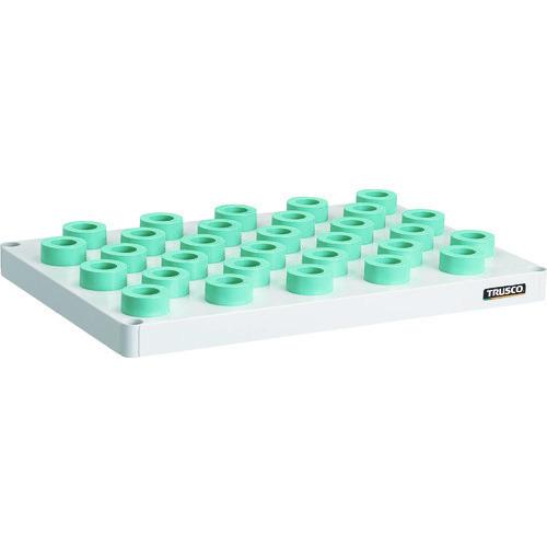 ■TRUSCO フェニックスワゴン 抗菌 棚板 750X500 HSK40A専用 W色  〔品番:PEW-TL75F-W〕[TR-1148364]