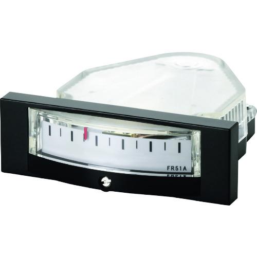 ■マノスター 微差圧計 マノスターゲージ <パネル横目盛形> FR51AHV1000D [TR-1148829]