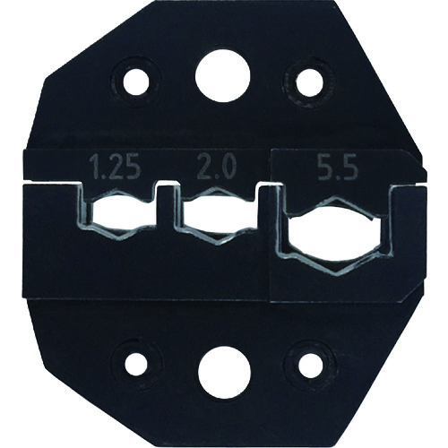 ■クラウケ 専用ダイス 絶縁端子用 1.25~5.5sq J5020 Klauke社[TR-1150635]
