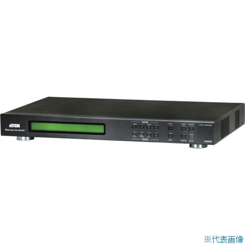 ■ATEN マトリックスビデオ切替器 HDMI / 4入力 / 4出力 / ビデオウォール VM5404H ATENジャパン(株)[TR-1152238] [個人宅配送不可]