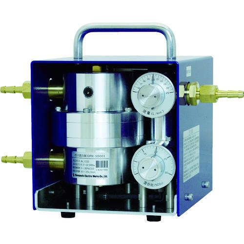 ■マノスター ガス混合器 Ar+CO2 GMX-SD001 [TR-1152481] [代引不可商品]