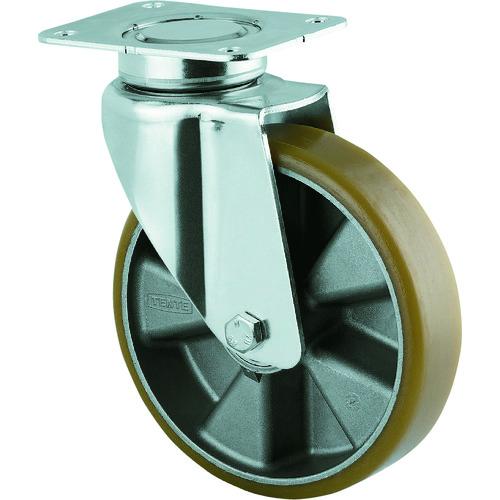 ■テンテキャスター 重荷重用高性能旋回キャスター(ウレタン車輪) φ200 自在式 3640ITP200P63 [TR-1154252]