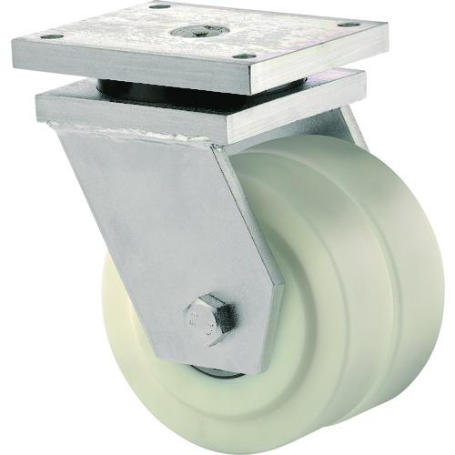 ■テンテキャスター 低床式超重荷重用双輪キャスター(ポリアミド車輪) 9950MOP100P65 [TR-1154845] [送料別途お見積り]