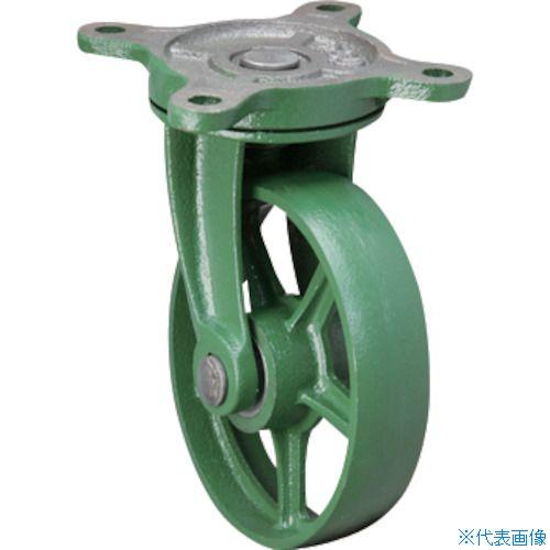 ■東北車輛製造所 標準型自在金具付鉄車輪 250 250BRFB [TR-1156281] [送料別途お見積り]