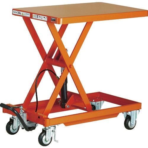 ■TRUSCO 作業台リフター 1000kg 600X1200 ハンドルレス〔品番:HLLA-E1000〕[TR-1158059]【大型・重量物・個人宅配送不可】