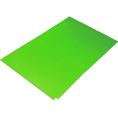 ■TRUSCO 粘着クリーンマット 450X900MM グリーン (10シート)  〔品番:CM459010-GN〕[TR-1161003]