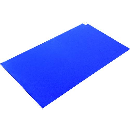 ■TRUSCO 粘着クリーンマット 900X1200MM ブルー (10シート)  〔品番:CM901210-B〕[TR-1161005]【大型・重量物・個人宅配送不可】
