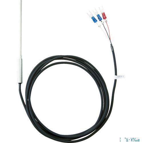 ■TRUSCO 温度センサー Pt100Ω測温抵抗体 1.6mmX100mm OSPT-161100Y トラスコ中山(株)[TR-1163609]