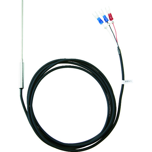 ■TRUSCO 温度センサー Pt100Ω測温抵抗体 1.6mmX50mm OSPT-1650Y トラスコ中山(株)[TR-1163611]