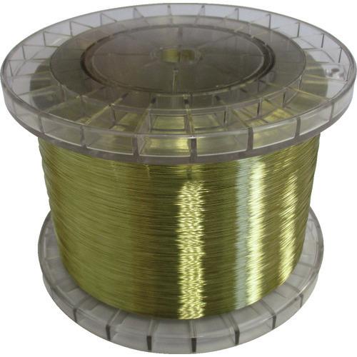 ■TRUSCO 黄銅ワイヤー 0.2 5KG巻 国産  〔品番:JWT020-5〕[TR-1164543]