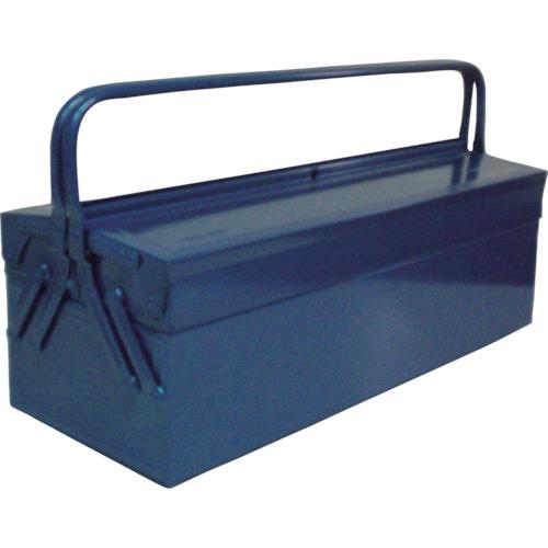 ■TRUSCO 2段式工具箱 600X220X305 ブルー GL-600-B トラスコ中山(株)[TR-1213563]