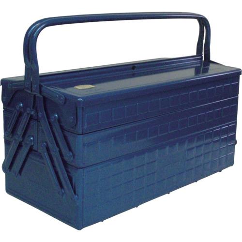 ■TRUSCO 3段式工具箱 472X220X343 ブルー GT-470-B トラスコ中山(株)[TR-1215663]