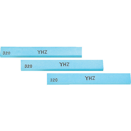 ■チェリー 金型砥石 YHZ (10本入) 100X13X5 600 Z43F (株)大和製砥所[TR-1218565]
