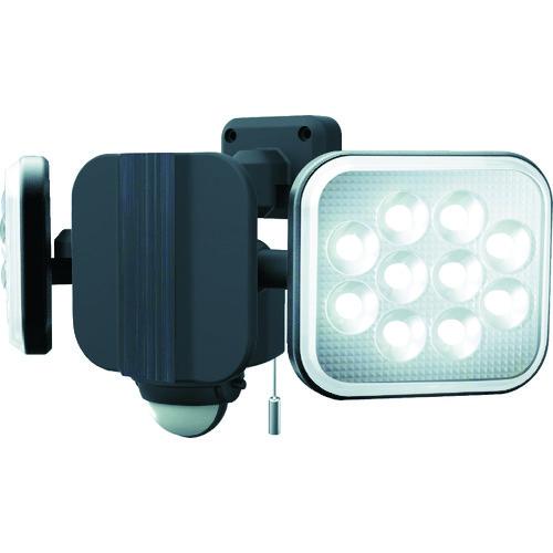 ■ダンケ 12W×2灯 フリーアーム式LEDセンサーライト E40224 (株)ムサシ[TR-1230098]