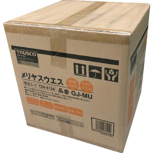 ■TRUSCO メリヤスウエス 柔軟タイプ (10kg入) GJ-MU トラスコ中山(株)[TR-1244124]