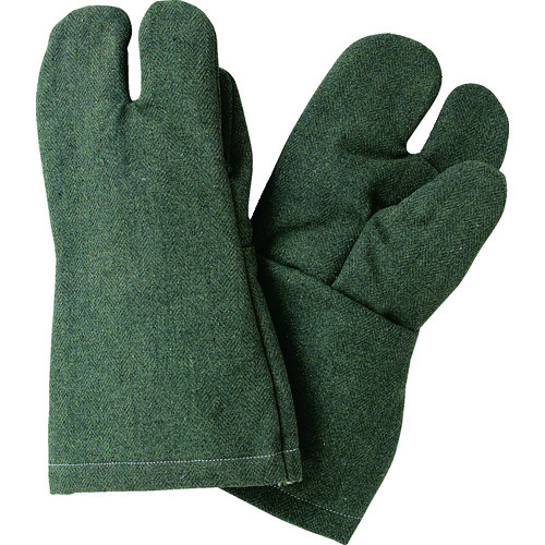 ■TRUSCO パイク溶接保護具 3本指手袋  〔品番:PYR-T3〕[TR-1249673]