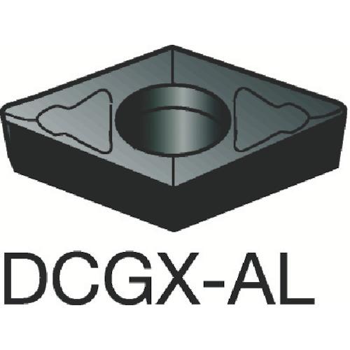 ■サンドビック コロターン107 旋削用ポジ・チップ H10(10個) DCGX11T302-AL [TR-1277332×10]