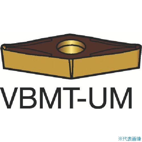 ■サンドビック コロターン107 旋削用ポジ・チップ 1525(10個) VBMT [TR-1349333×10]