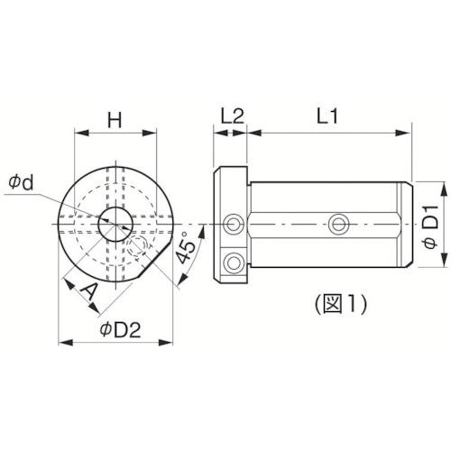 ■京セラ 内径加工用ホルダ SHC-204070 京セラ(株)[TR-1429698]