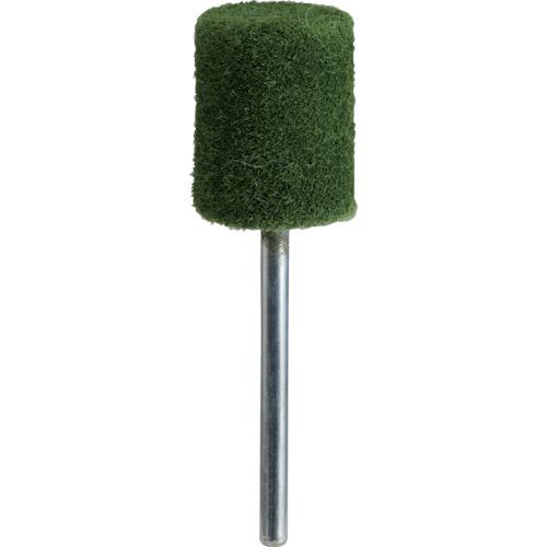 ■TRUSCO フェルトミニホイール 平型 Φ15 研磨用 緑色 (10個入) SF1520S-B トラスコ中山(株)[TR-1435493]