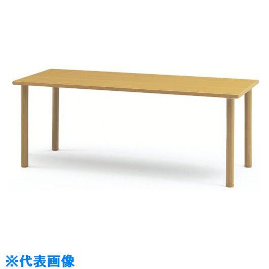 ■TOKIO ダイニングテーブル 1800X900 メープル 〔品番:MOT-1890〕[TR-1472475][送料別途見積り][法人・事業所限定][外直送]