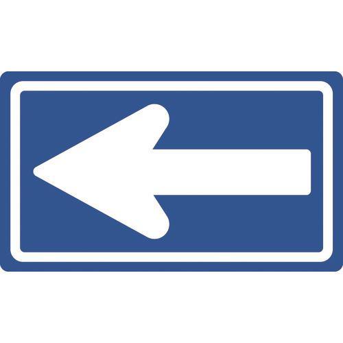 アルミ製 反射タイプ 350×600MM 〔品番:133681〕[TR-1478262][送料別途見積り][法人・事業所限定][掲外取寄] 道路標識(構内用) 一方通行 ■緑十字