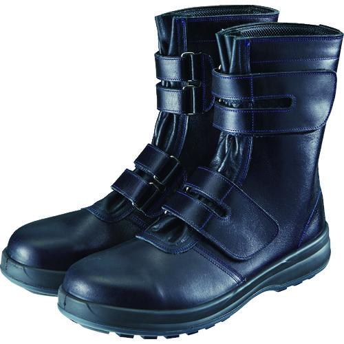 ■シモン 安全靴 マジック式 8538黒 25.0cm 8538N-25.0 (株)シモン[TR-1525069]